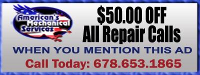 50 Dollars Off Repairs