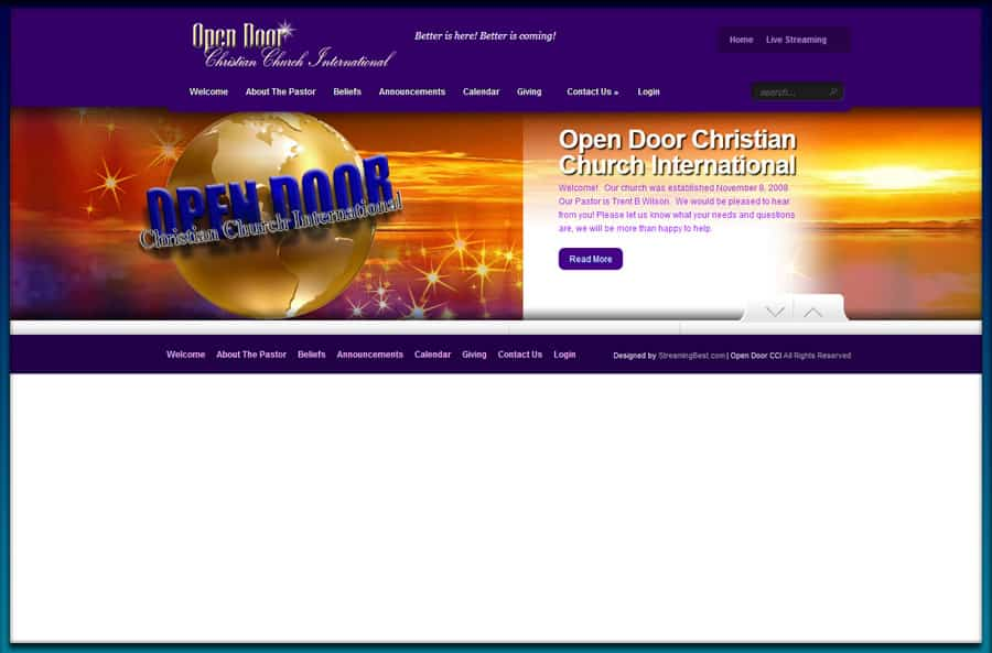 Open Door Christian Church International