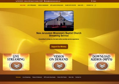 New Jerusalem Streaming Portal
