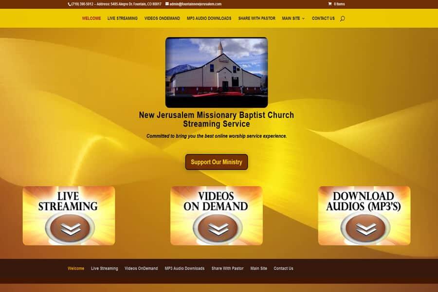 New Jerusalem Streaming Portal